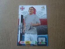 Carte adrenalyn panini - Euro 2012 - Angleterre - John Terry