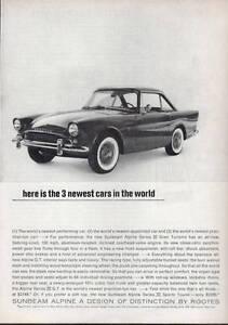 1963-Sunbeam-Alpine-Hardtop-Sports-Car-2-Door-PRINT-AD