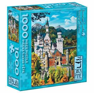 Cobblehill JackPine 1000 piece Jigsaw Puzzle - Bavarian Castle CBL70036