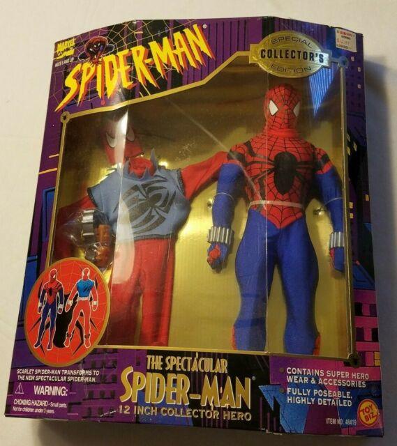 Marvel Spiderman SCARLET SPIDER Personaggio 30cm Serie Titan Hero Hasbro E2342