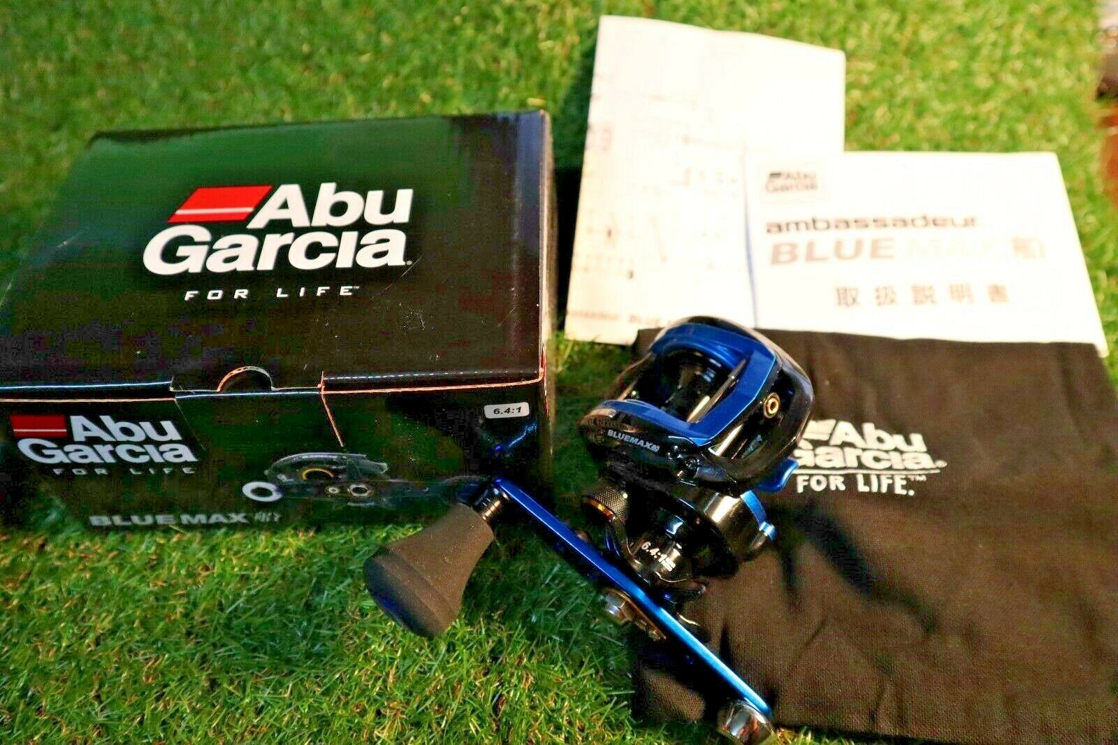 Abu Garcia Bait reel blueEMAX 3 for boat Hune Right From Stylish anglers japan