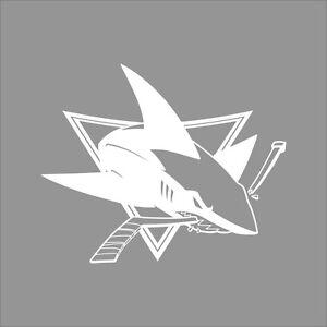 San Jose Sharks NHL Team Logo Color Vinyl Decal Sticker Car - Custom vinyl stickers san jose
