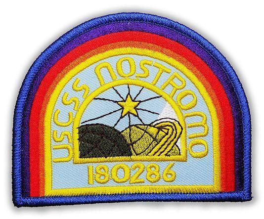 USCSS NOSTROMO Crew Uniform Embroidered Shirt Patch - ALIEN / ALIENS