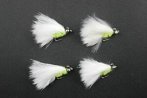 X4-S-S-Cats-Whiskers-Mini-Lure-Fly-size-12-Trout-Fishing-Flies