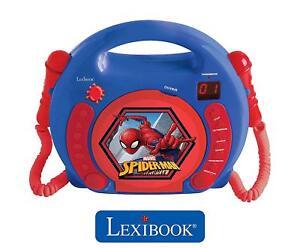 Lexibook-RCDK100SP-Spiderman-Reproductor-de-CD-Infantil-With-2-Juguete