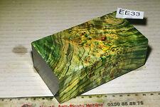 Block Box Mod Pappel Maser gelb grün stabilisiert puq EE33