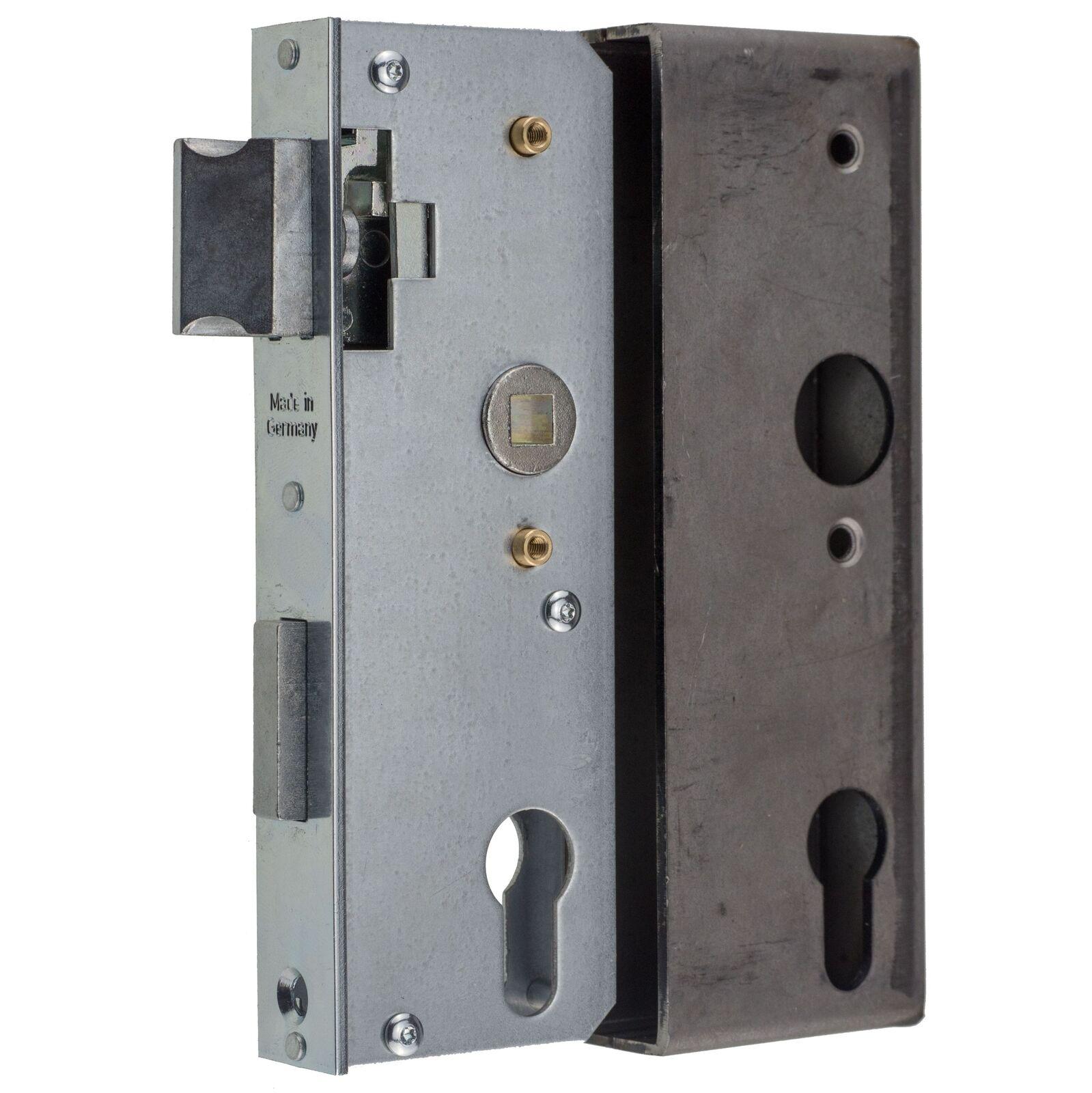 Metalltorschloss mit Einschweisskasten für 30 mm Rohr Dornmaß 40  | Kunde zuerst  | Erste Gruppe von Kunden  | Verschiedene Stile  | Günstigen Preis