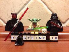 Lego® Star Wars™ Figur Darth Vader™ Yoda™  Darth Maul™ Imperator Boba Palpatine™