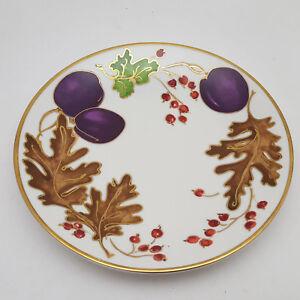 Crate-amp-Barrel-Sugarplum-Leaves-amp-Fruit-Design-Salad-Appetizer-Plate