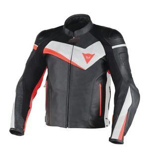Dainese Black Leather Jacket Is Veloster Motorcycle White Loading Motorbike Image SwHqCW