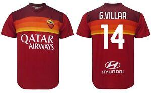 Trikot G.Villar ROM 2021 Offizielle Geteilt Offizielle 2020 Gonzalo 14