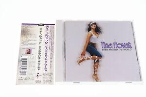 TINA NOVAK BEEN AROUND THE WORLD BVCA-21112 CD JAPAN OBI A7470