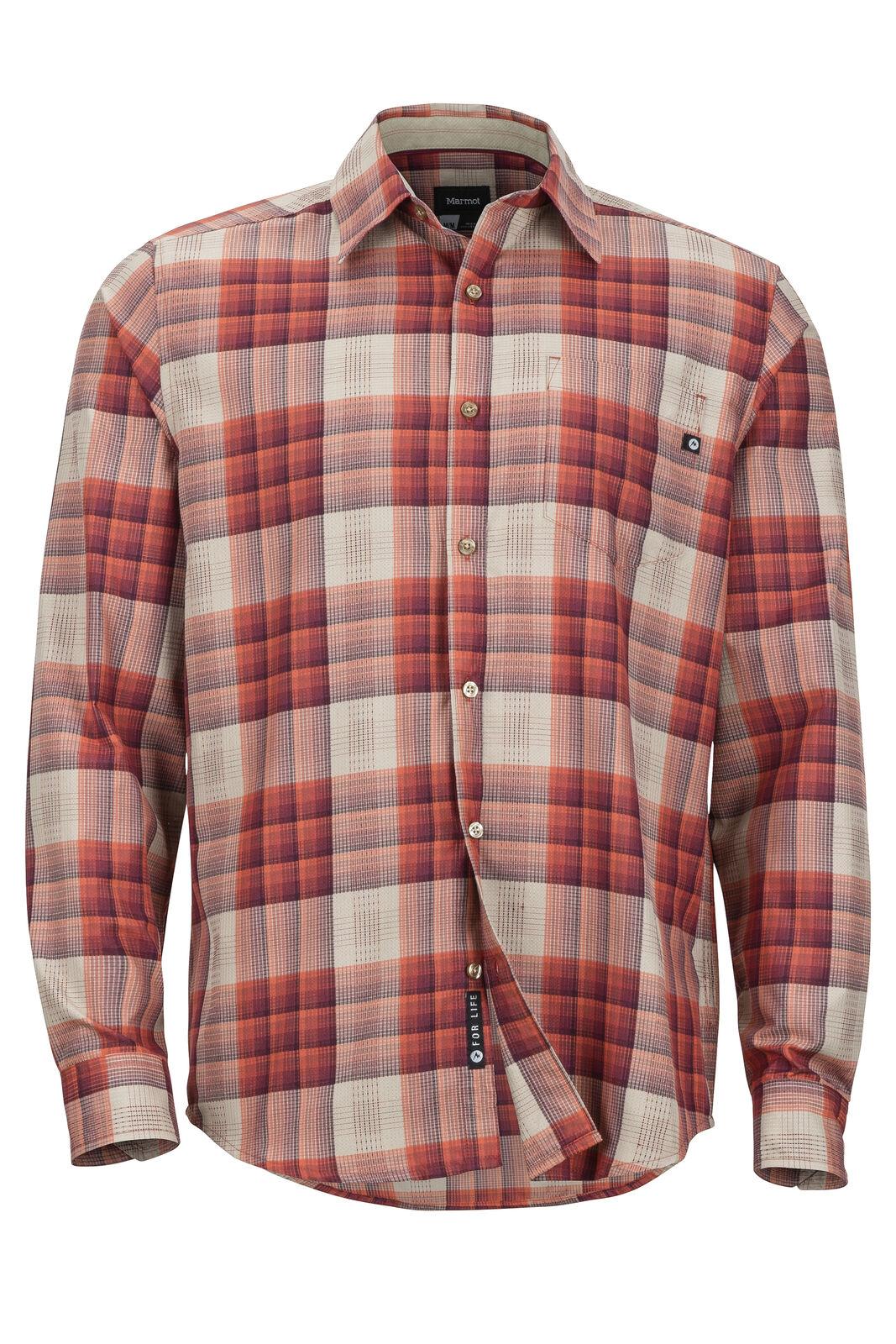 Marmot Zephyr Outdoorshirt LS Outdoorshirt Zephyr (auburn) 400cc2