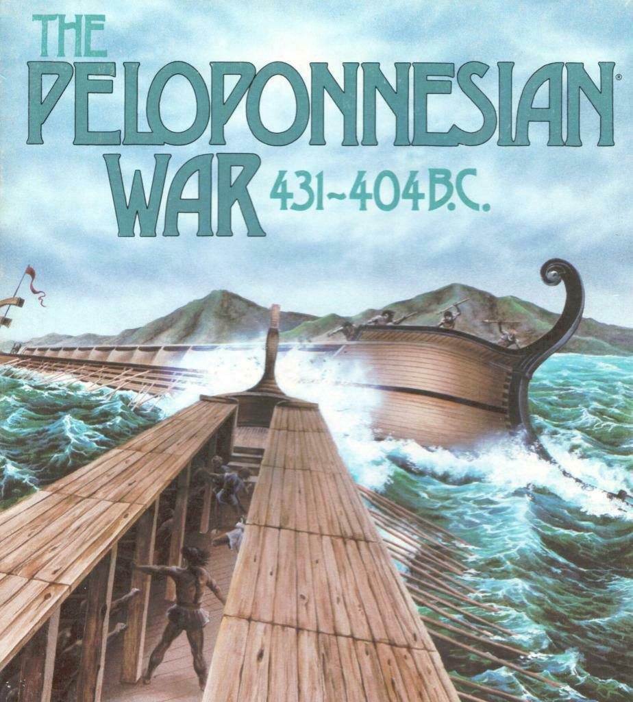 The Peloponnesian War by Mark Herman, Victory Games, Unpunched, Great Bonus