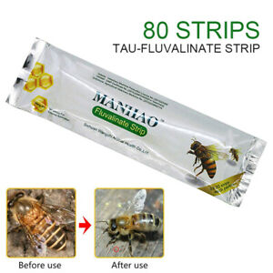 80pcs-Apiculture-Tau-Fluvalinate-Mite-Killer-Outil-Set-Pestcontrol-Varroa-strip