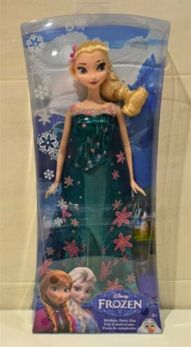 DISNEY FROZEN ELSA FEVER SINGING Or ANNA ELSA BIRTHDAY PARTY DOLL By MATTEL