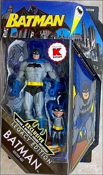 DC Universe BATMAN Legacy Edition__Golden Age BATMAN 6   figure + BATMITE_Mattel