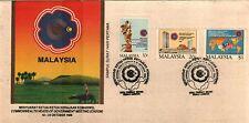 MAL 1989 CHOGM KUALA LUMPUR 1989 ~ FDC