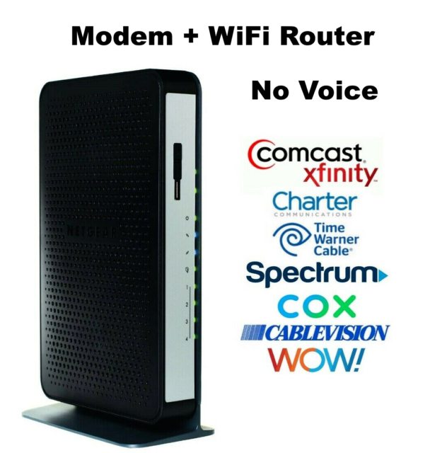 Netgear Cg3000dv2 N450 Wireless Cable Modem Router For Sale Online Ebay
