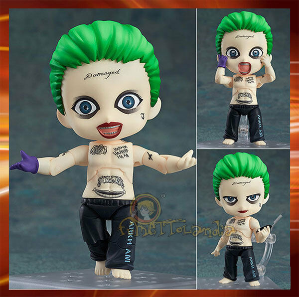 Suicide Squad NendGoldid Joker Action Figure Good Smile Company 10cm
