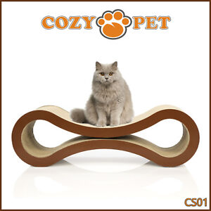 Cat Scratcher By Cozy Pet Deluxe Cardboard Scratching Pad Cat Lounge Cat Sofa