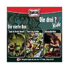 DIE DREI ??? KIDS - 04/3ER BOX FOLGEN 10-12 (SPUK IN ROCKY BEACH/+)  3 CD NEU