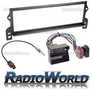 Bmw-Mini-Stereo-Radio-Fascia-Facia-Panel-Kit-de-montaje-envolvente-Adaptador-Pin-Redondo