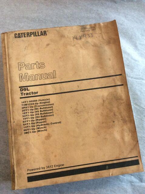 CAT CATERPILLAR D3B Tractor Dozer Crawler Parts Manual Book Catalog 24Y series