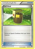 POKEMON XY FURIOUS FISTS - FULL HEAL 93/111 - TRAINER CARD