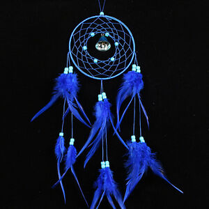 Dream-Catcher-with-Feathers-Car-Wall-Hanging-Decor-Ornament-Craft-Gift-D