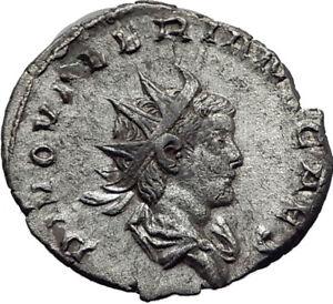Divus-VALERIAN-II-Gallienus-Son-Silver-Ancient-Roman-CONSECRATIO-Coin-i65333