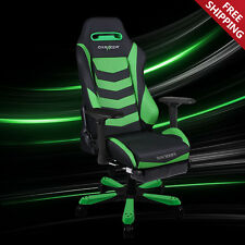 DXRACER Office Chair IS166/NE/FT Gaming Chair +Leg Rest Ergonomic Computer Chair