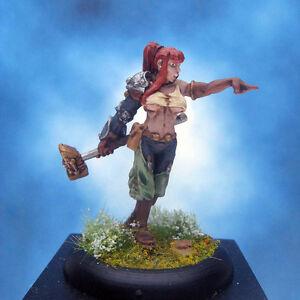 Painted-Wyrd-Miniature-Taelor-Lady-Hammerstrike