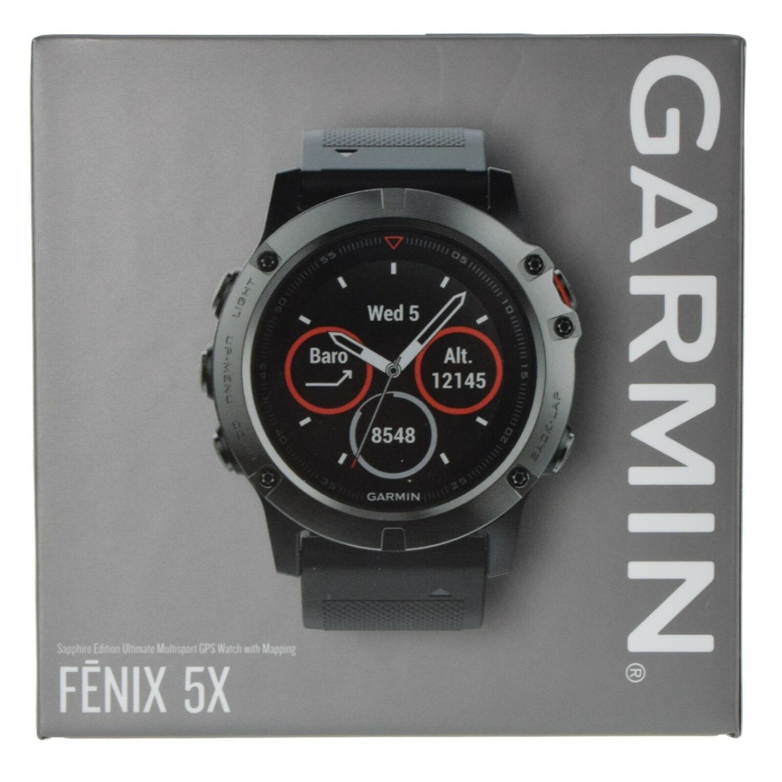 white unisex with gps band garmin wwhite alt fenix angle watch product sapphire
