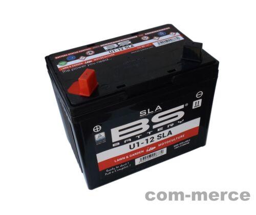 Rasentraktor /& Motorrad /% BS GEL Batterie Akku 12V 28 AH Blei-Akku 47749