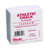 Mueller Athletic Gymnastic Weightlifting Chalk - 2 Oz Bar