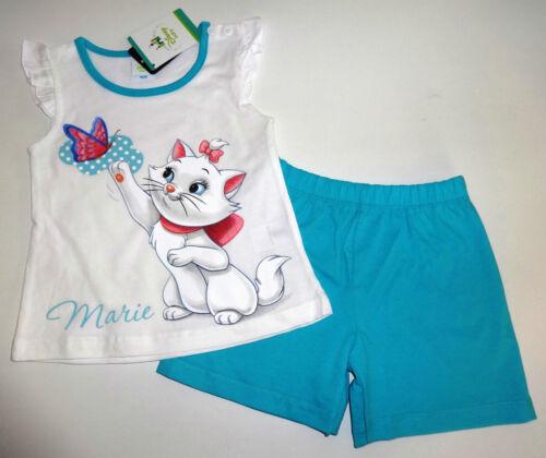 Shorts Gr 80 86 92 Flügelärmel neu Aristocats Marie Set Shirt T-Shirt