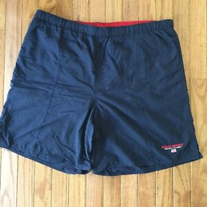 bec494c585 Vintage Polo Sport Ralph Lauren Logo Mens Swim Trunks Size XL ...