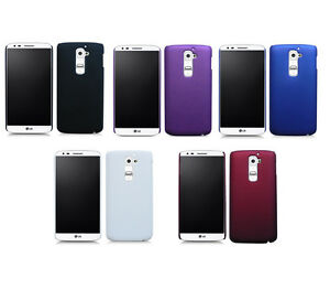 Hard-Rubberized-Matte-Snap-On-Slim-Cover-Case-for-LG-G2-GII-D802-D801