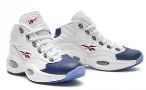 Image is loading New-2012-REEBOK-QUESTION-Mid-Pearlized-Blue-Leather-
