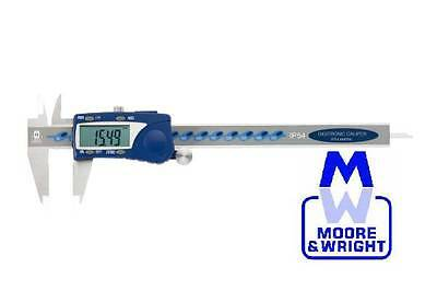 "MOORE AND WRIGHT 0-12"" / 0-300MM WATER RESISTANT DIGITRONIC CALIPER MW110-30WR"