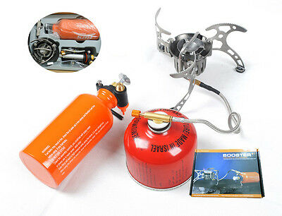 BRS Oil/Gas Camping Stove Outdoor Multi-Use Cooker Hiking Fishing Burner BRS-8