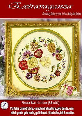 Rajmahal art silk Design by Irene Junkuhn Enchantment embroidery kit