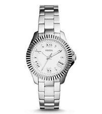 NWT Fossil Womens Cecile Mini Stainless Steel Watch AM4608