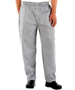Large Business & Industrial Chef Pants Flight Tracker Uncommon Threads 4101-4004 Womens Chef Pant In Houndstooth