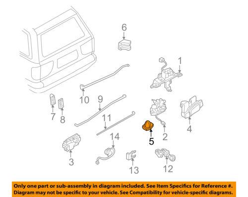NISSAN OEM Liftgate Tail Tailgate Trunk-Lock Striker 9057070N1A