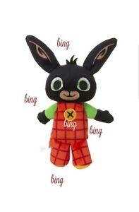 BING Peluche, SONORO Lingua Italiana, , Coniglio, 28CM Bunny
