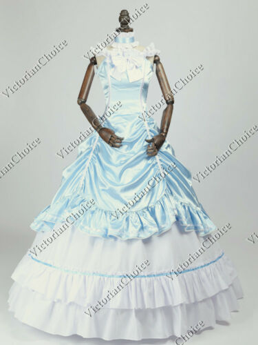 Victorian Dresses | Victorian Ballgowns | Victorian Clothing    Southern Belle Old West Saloon Fancy Dress Cinderella Princess Costume N 135 $155.00 AT vintagedancer.com