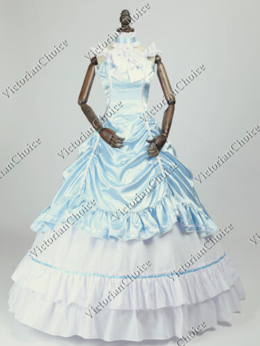 Victorian Dresses, Clothing: Patterns, Costumes, Custom Dresses    Southern Belle Old West Saloon Fancy Dress Cinderella Princess Costume N 135 $155.00 AT vintagedancer.com
