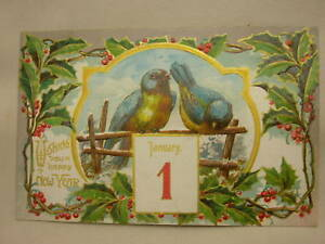 image is loading vintage new year wishes postcard made in germany